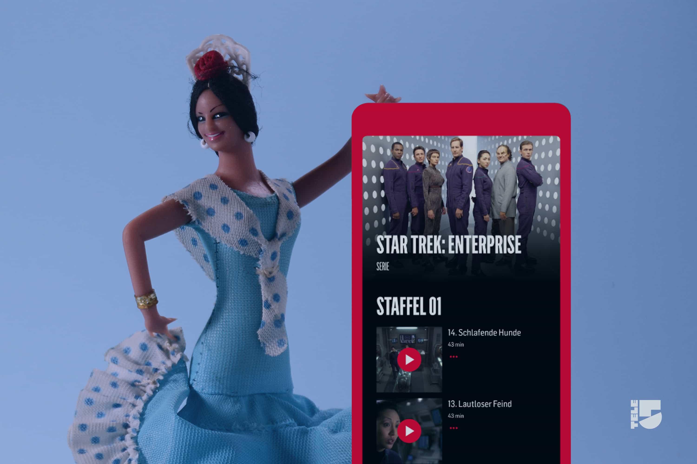 Mediathek-App für TELE 5